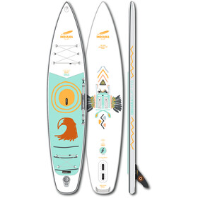 Indiana SUP 11'6 Touring LITE LTD Inflatable SUP Board, wit/turquoise